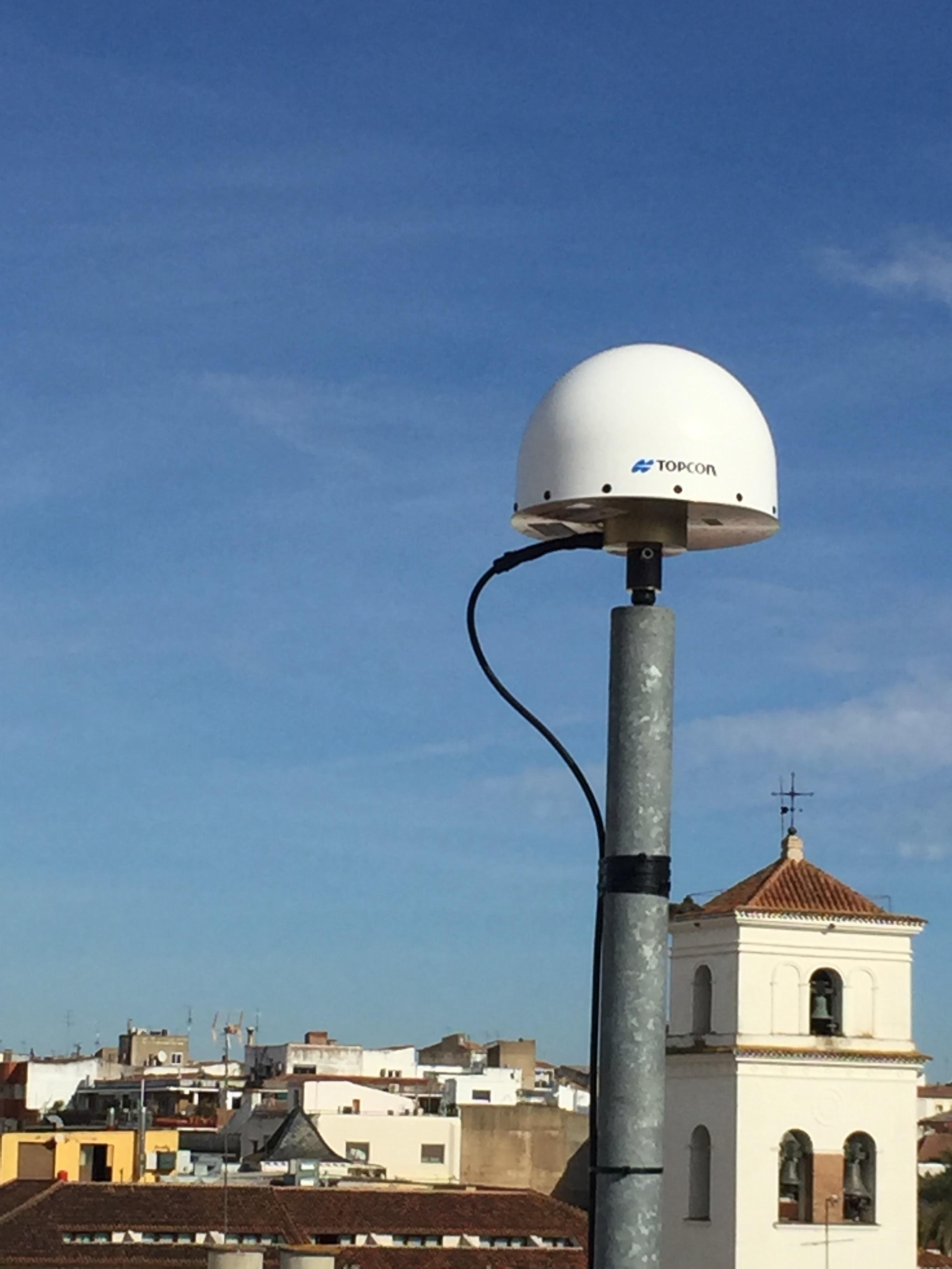 Estación GNSS CCEX (Cáceres)