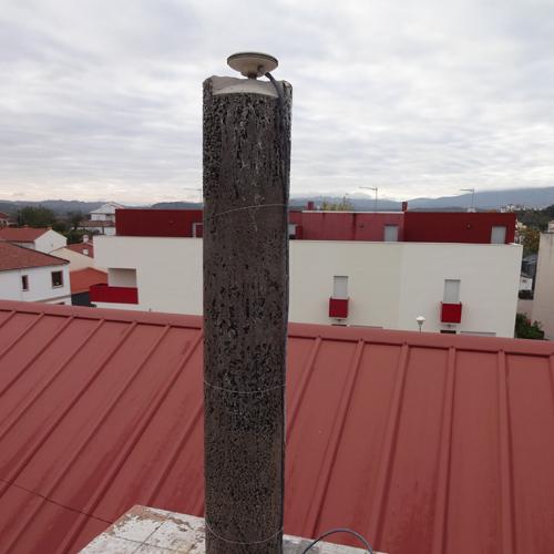 Estación GNSS VALC (Valencia de Alcántara)